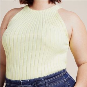 Anthropologie Ribbed Tank
